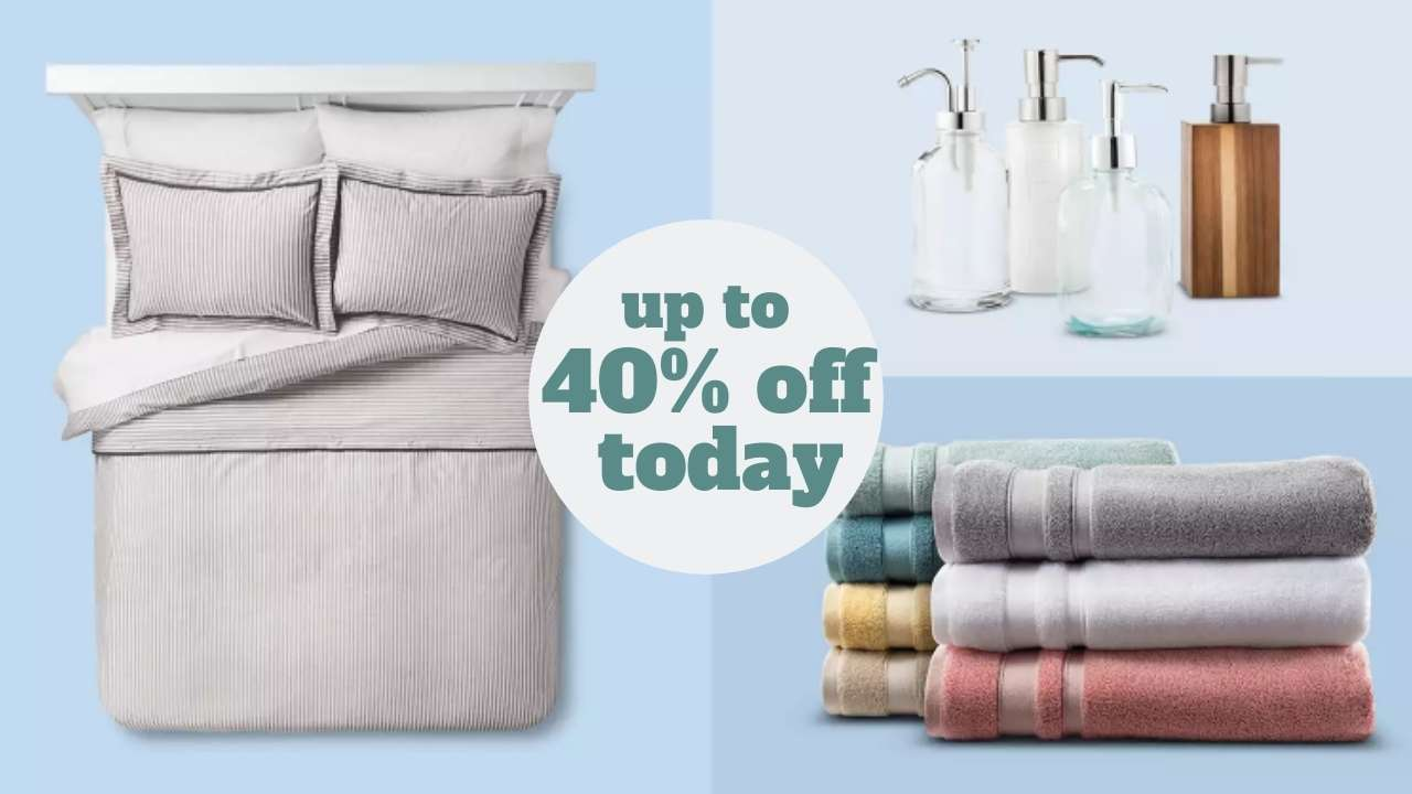 Target Deal Up To 40 Off Bedding Bath Today Only Southern Savers