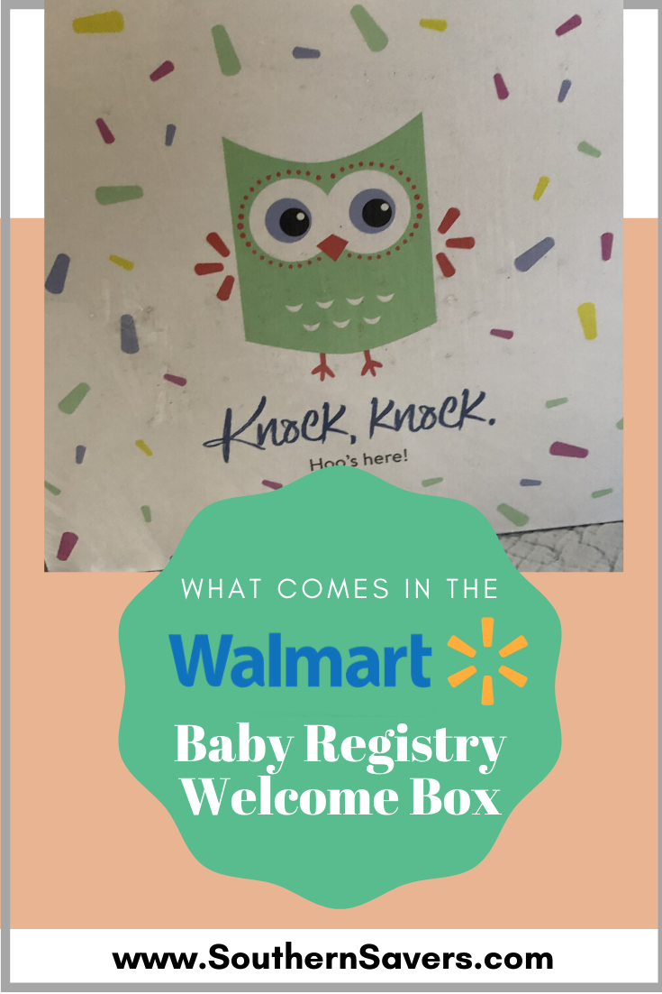 If you create a Walmart baby registry, you can get a Walmart baby registry welcome box for free! See my friend's review and peek at what's inside.