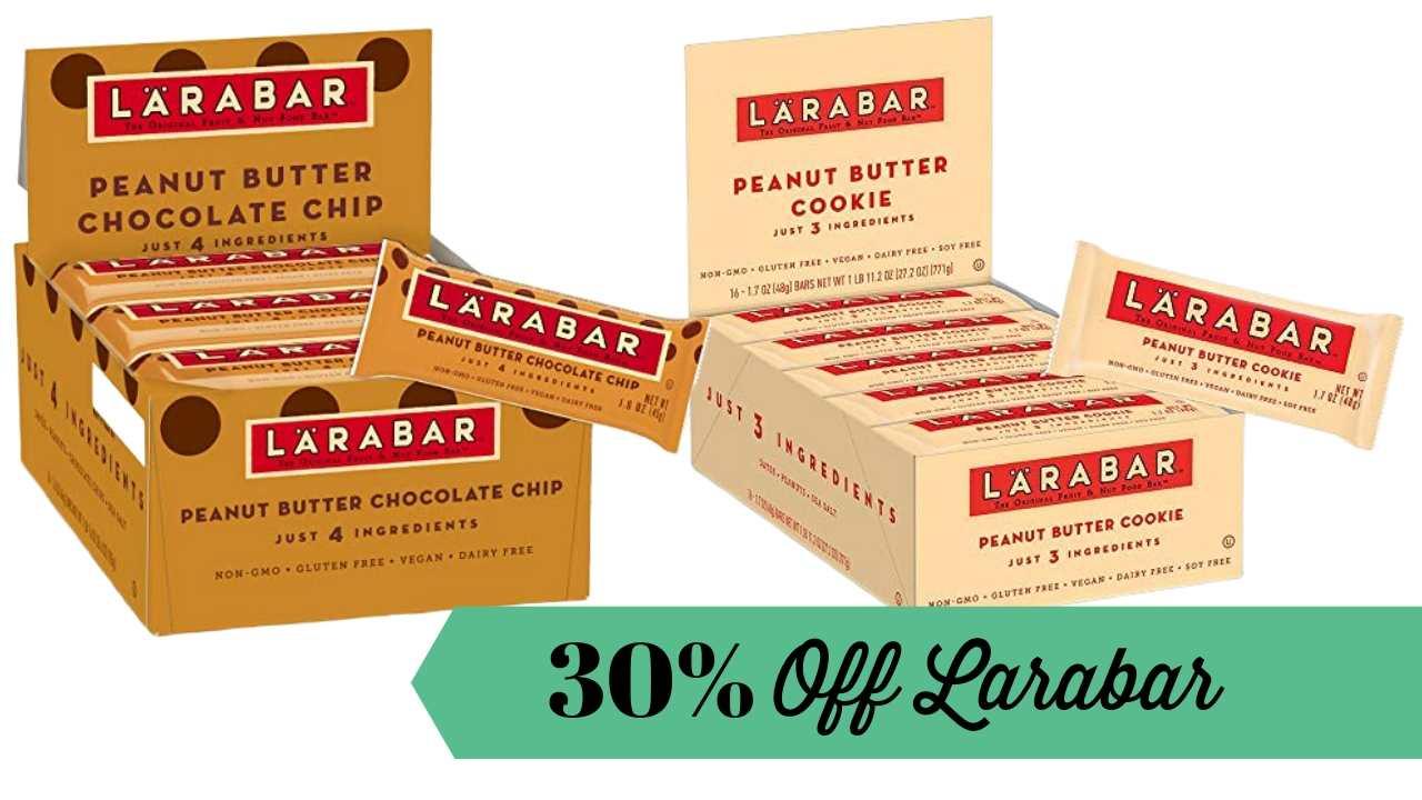 30% off Larabar
