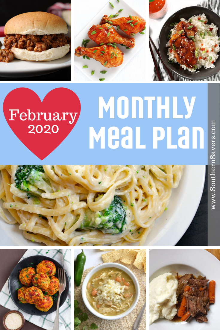 A new month means a new Southern Savers monthly meal plan. This month I've tried to iclude as many of my favorite classic recipes as I can!