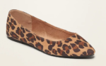 Old Navy leopard spot pointed flats