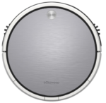silver bObsweep robot vacuum
