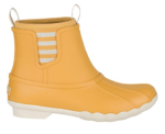 yellow women's duck boots
