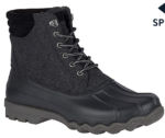 men's gray sperry duck boots