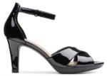 clarks patent slickback heels