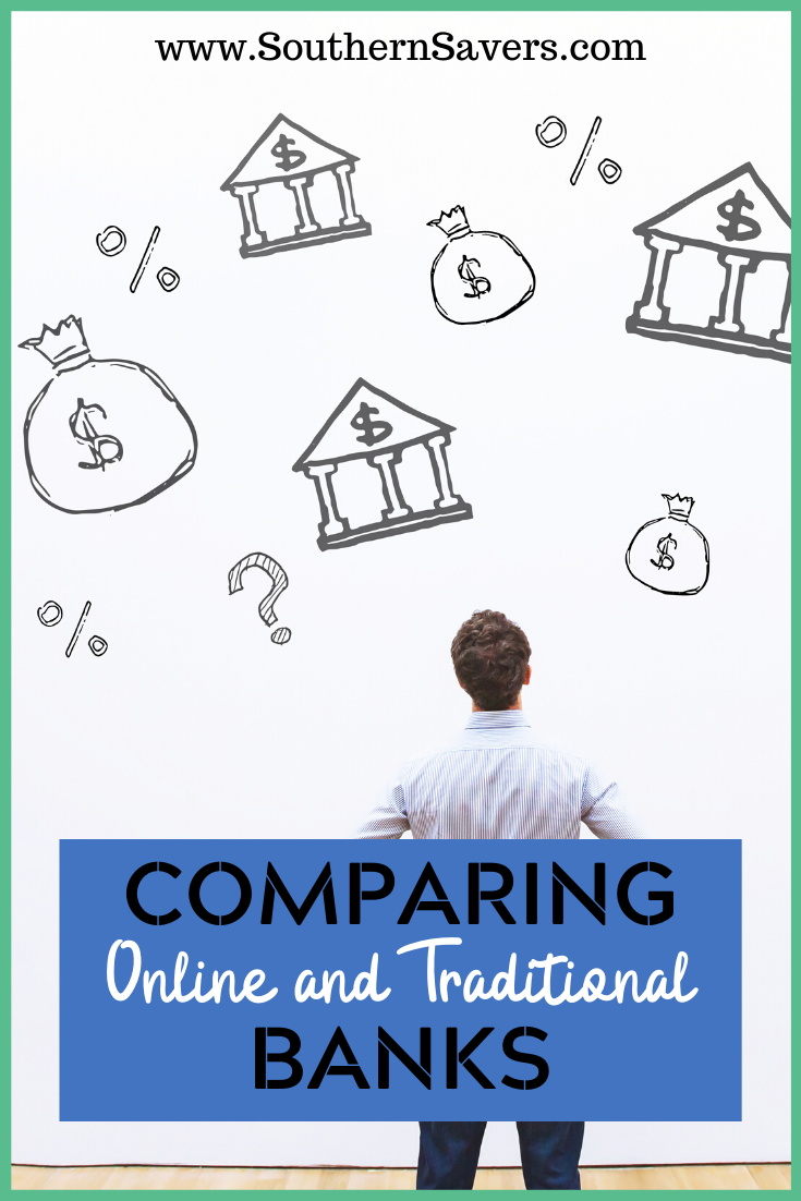 You want to let your money work for you, but in this day and age, it's tough comparing online and traditional banks. I do the work for you in this post!