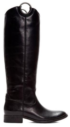 frye boots tall black