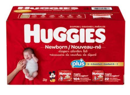 huggies newborn starter box