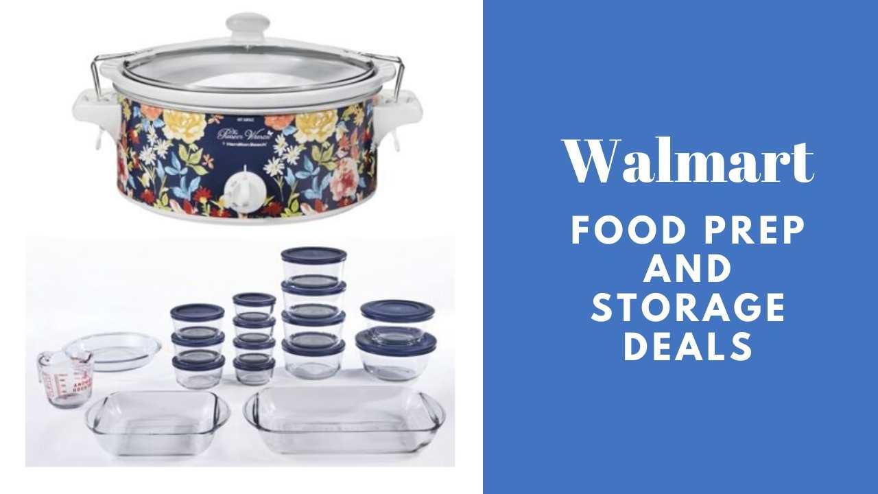 walmart food prep and storage deals