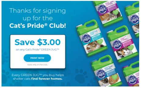 cat's pride club download coupon