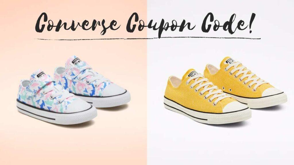 converse coupon code