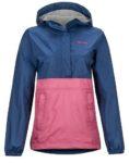 marmot half-zip rain jacket