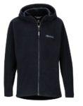 kids black marmot full zip hoody