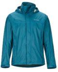 marmot men's blue rain jacket