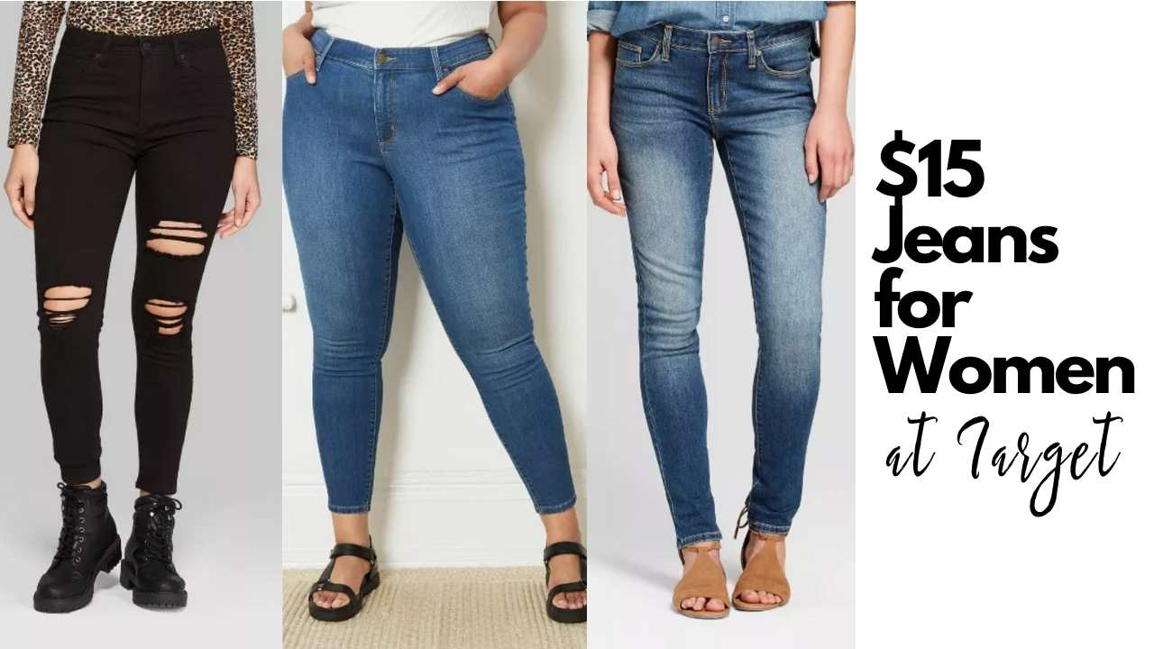target womens jeans