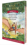 magic treehouse box set, books 1 through 4