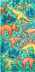 the big one dinosaur beach towel