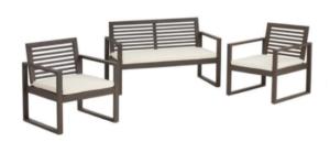 world market outdoor three piece seating set