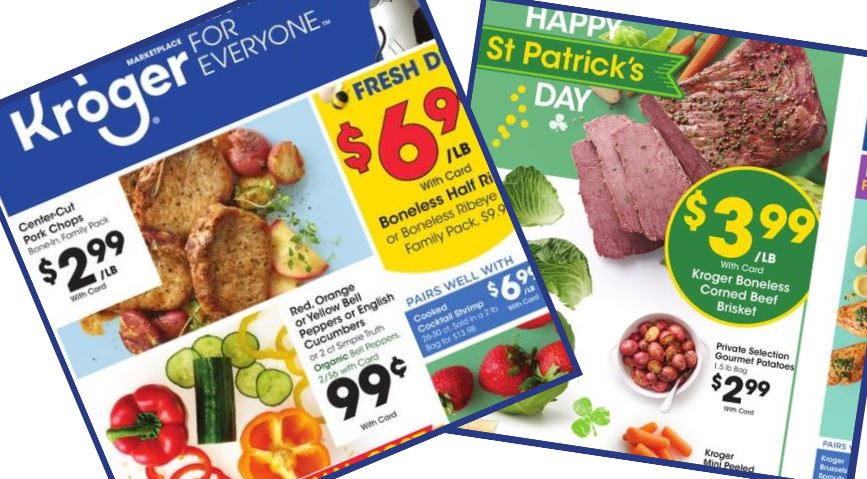 Kroger Weekly Ad 3 11 3 17 Southern Savers