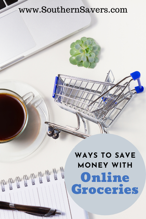 You know I'm a huge fan of using coupons and sales at local stores to save money, but there are also plenty of ways to save money with online groceries!