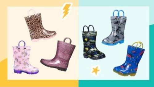 Zulily Sale   Kids' Rain Boots for $9