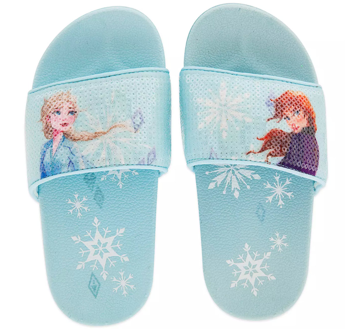 kids frozen slide sandals