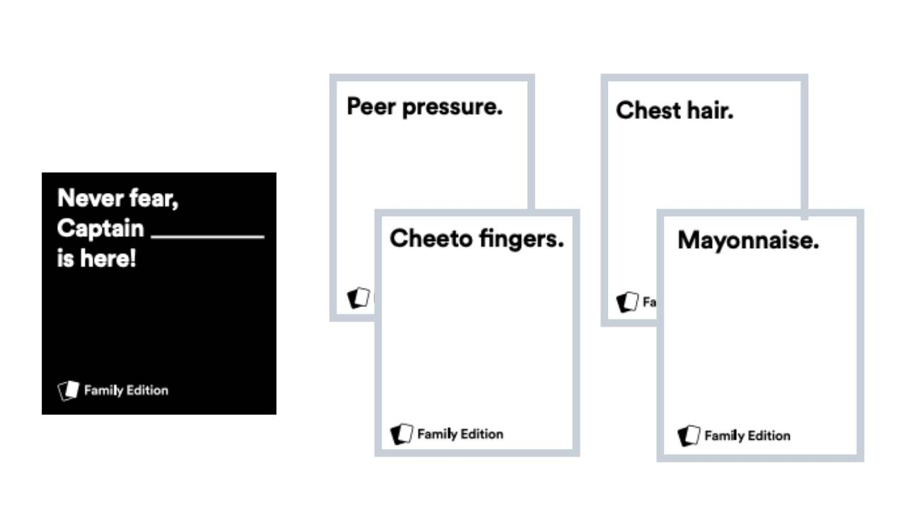 Free Cards Against Humanity Family Edition Southern Savers