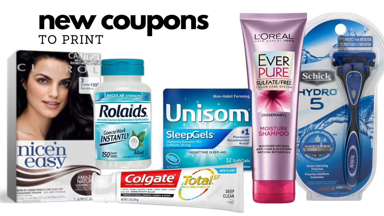 33 New Medicine Personal Care Coupons Southern Savers