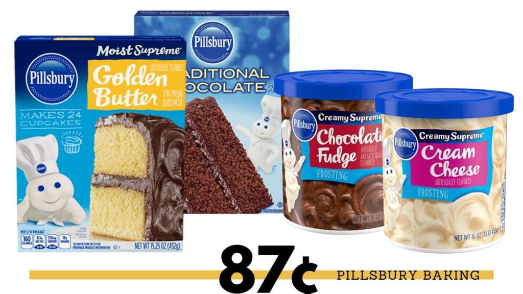 Stupendous Kroger 87 Pillsbury Cake Mix Southern Savers Personalised Birthday Cards Cominlily Jamesorg