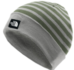 the north face striped beanie