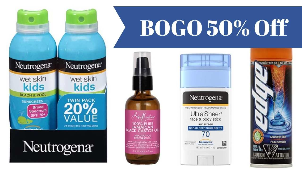 bogo 50% off personal care