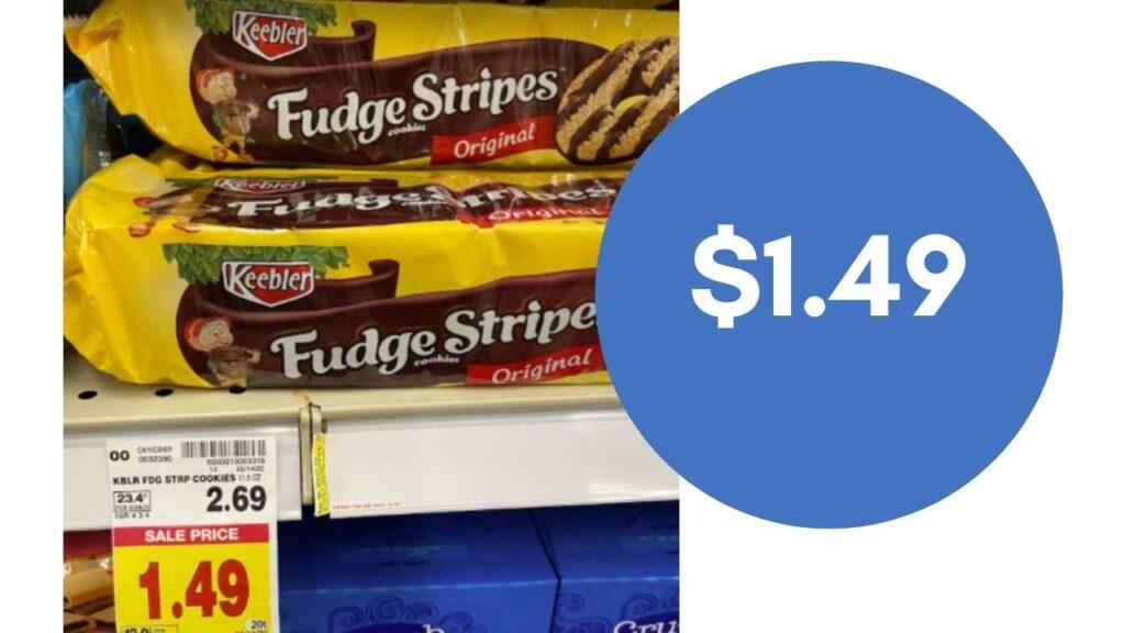 fudge stripes cookies