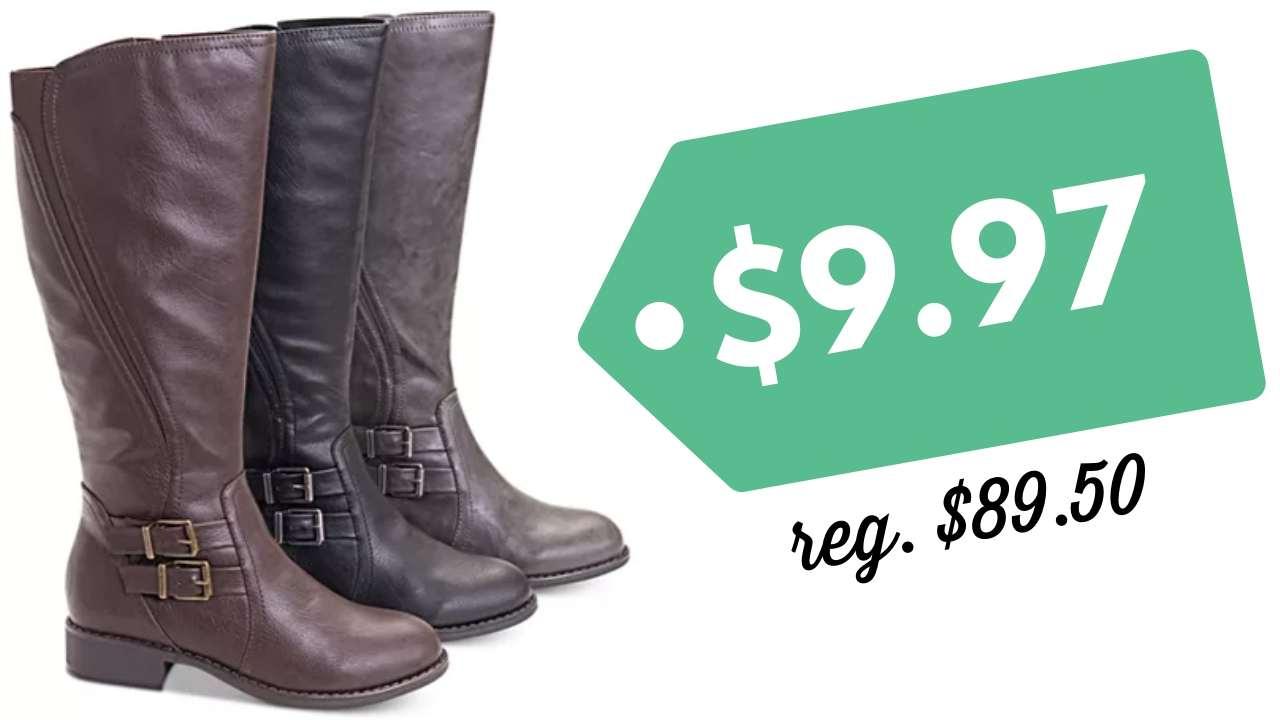 Macy's Last Act Shoe Sale \u003d Boots for