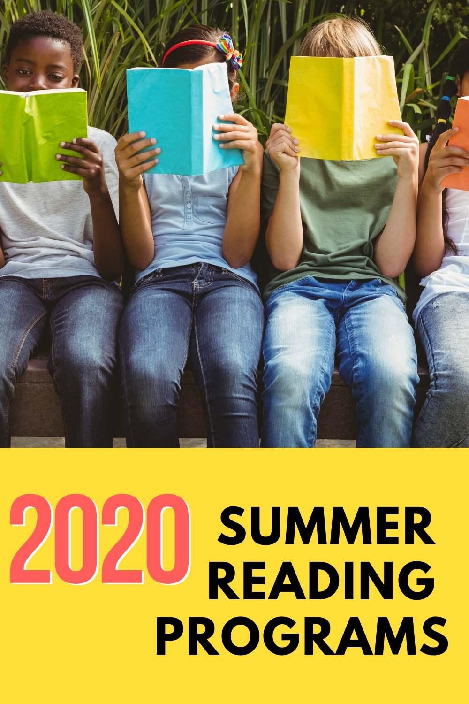 2020 Summer Reading Programs