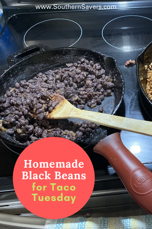 Looking for a way to make a normal weekday dinner a little more exciting? Take Taco Tuesday to the next level with these homemade black beans!