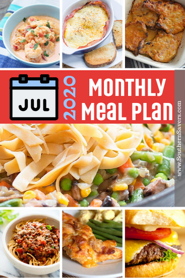 A new month means a new meal plan, because everybody still needs to eat. This monthly meal plan contains a variety of curated recipes!