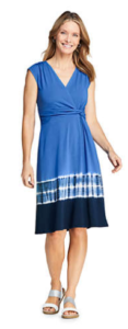 lands end womens dress