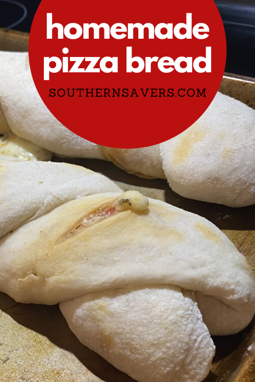 Mix up pizza night by making homemade pizza bread. Gooey cheesy and pepperoni are good enough for a simple version, but the filling options are endless!
