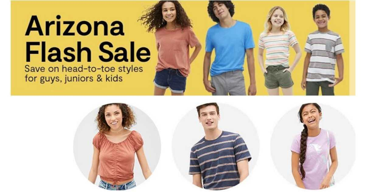 jcpenney flash sale