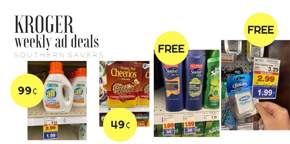 Kroger Weekly Ad 6 3 6 9 Southern Savers