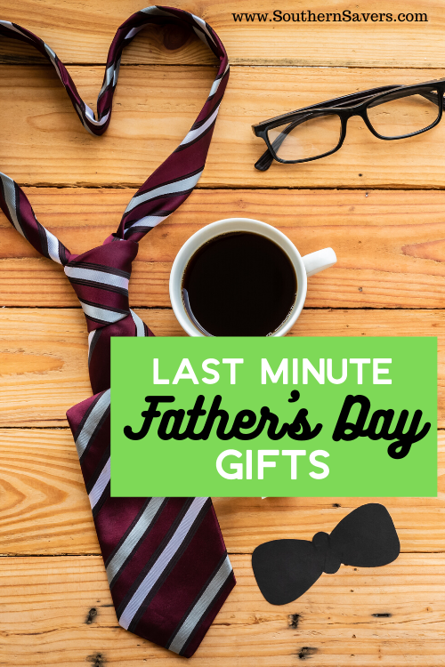 If you need to get a gift and it's too late to order online for the special guy in your life, check out this list of last minute Father's Day gifts!