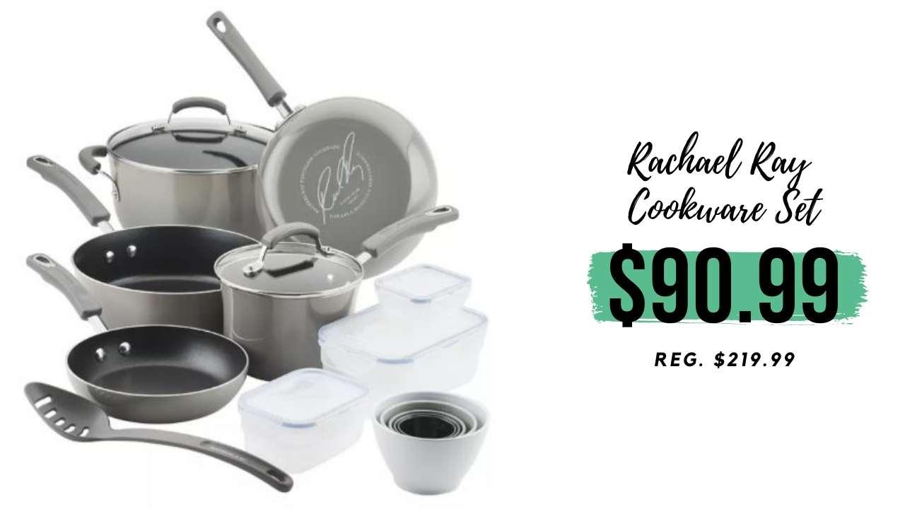 macy's rachael ray cookware set