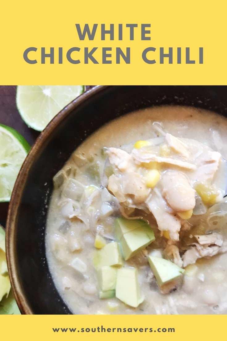 pinterest white chicken chili