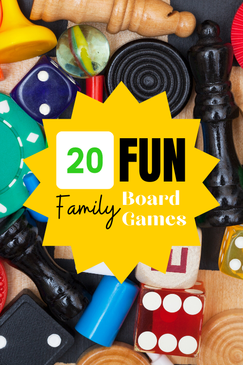 Whether you're traveling or staying home this summer, playing games together is a great way to bond. These 20 fun family board games are my favorite!