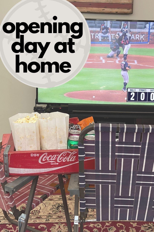 DIY Baseball Opening Day Weekend at Home