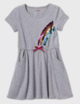 rainbow sequin dress
