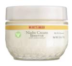 burt's bees night cream