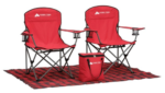 tailgate chair and cooler set