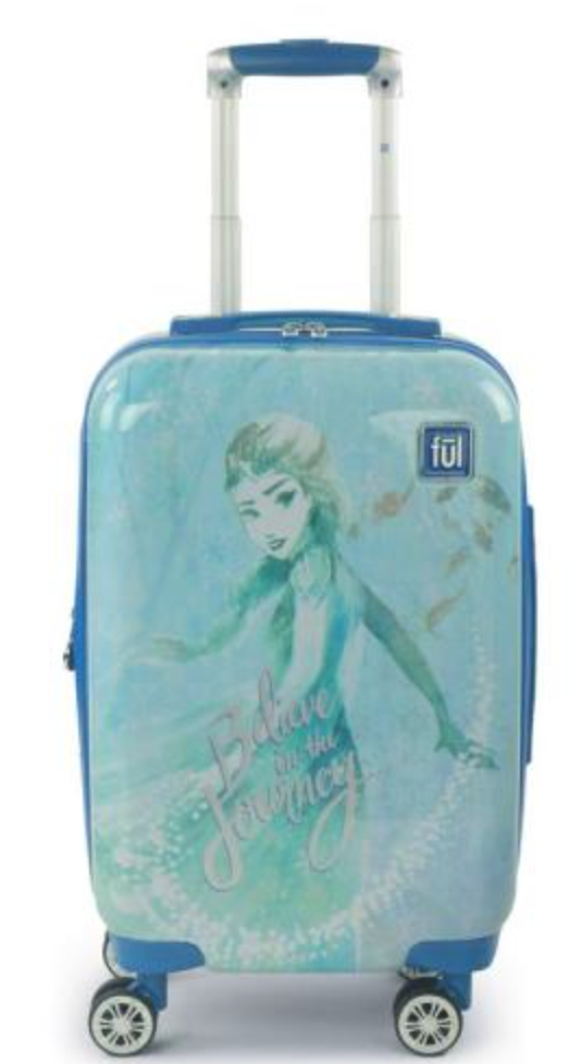elsa frozen 2 luggage