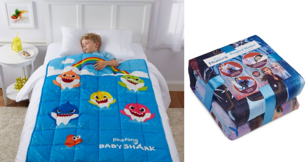 Kids Character Weighted Blankets for $14.97